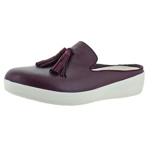 Fitflop Womens Superskate Slip Mules Leather Slip On