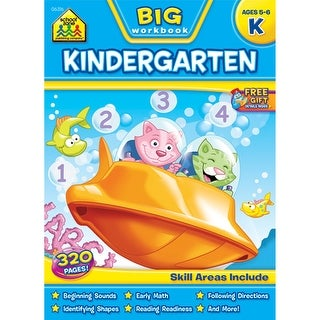 Big Workbook-Kindergarten - Ages 5-6