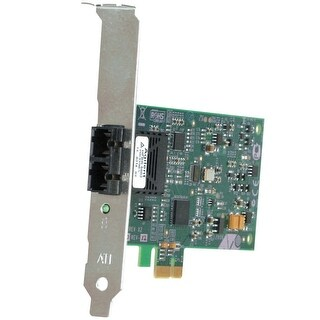 Allied Telesis Inc. - 32 Bit 100Mbps Pci Express Fast Ethernet Fiber Adapter Card; Lc Connector; Inclu