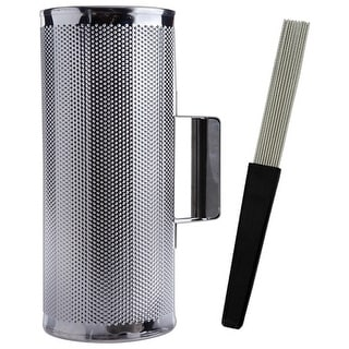 "Nippon Latin Percussion 5"" x 12"" Metal Guiro with Scraper Instrument"