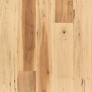 "Mohawk Industries BCE06-HIC  Homestead Trails 7"" Wide Handscraped Engineered Hickory Hardwood Flooring - Sold by Carton (22.5"