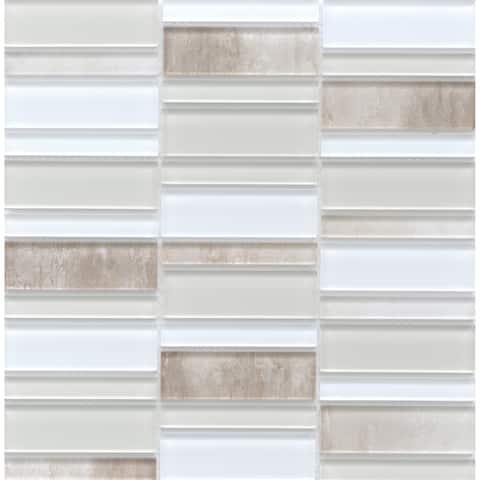 """Emser Tile W13LAVI1212MO La Vie - 11-13/16"""" x 11-15/16"""" Linear Bac"""
