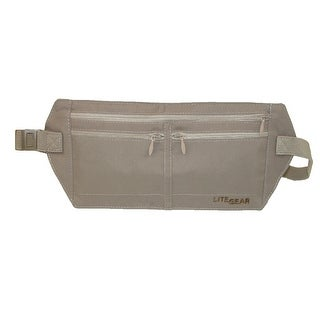 Lite Gear RFID Microfiber Money Belt - Tan - One Size