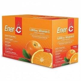 Ener-C Orange Effervescent Vitamin C Drink Mix 30 Packets