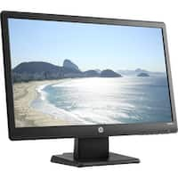 "Refurbished - HP W2082A Black 20"" LED Monitor TN 5ms 200cd/m2 Built-in Speakers, VGA DVI-D"