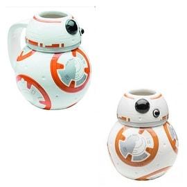 ZAK White/ Orange Star Wars The Force Awakens BB-8 Ceramic Coffee Mugs