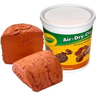 Crayola Air-Dry Clay 5Lb-Terra Cotta