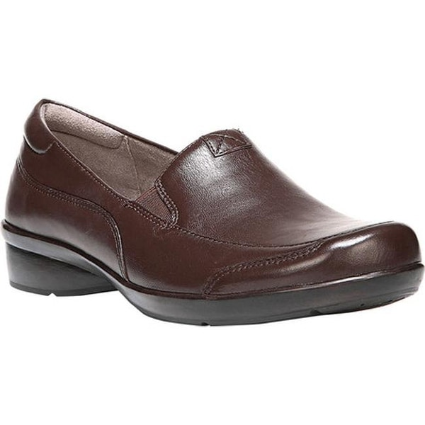 Naturalizer Women's Channing Slip-On Bridle Brown ET Sheep Premium Leather