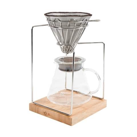20oz Pour Over Dripper Coffee Maker
