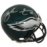 Zach Ertz Signed Philadelphia Eagles Riddell Mini Helmet JSA