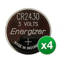 Replacement Battery for Energizer CR2430 2Pack (4-Pack) Replacement Battery