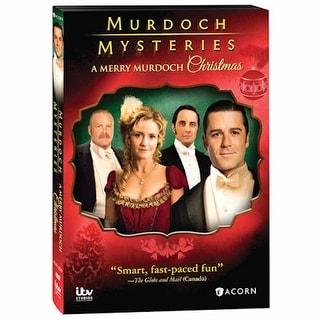 Murdoch Mysteries: A Merry Murdoch Christmas Dvd And Blu-Ray - Blu Ray