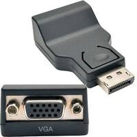 Tripp Lite Displayport To Vga Adapter Active Converter Compact Displayport 1.2 Dp To Vga Dp2vga 6In (P134-06N-Vga)
