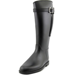 Dirty Laundry Riff Raff Women Round Toe Synthetic Black Rain Boot