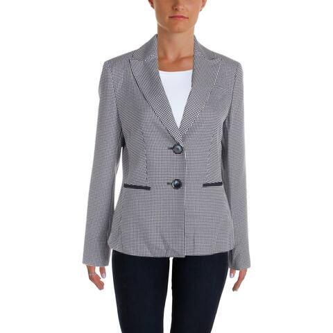 Le Suit Womens Pant Suit Tweed Professional