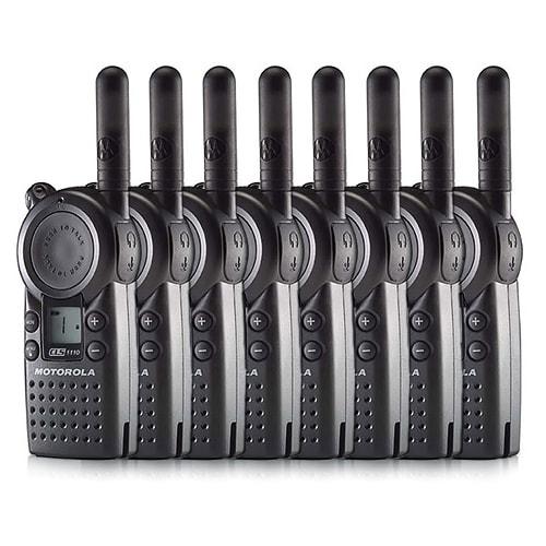 Motorola CLS1110 Professional Two Way Radio (8 Pack)