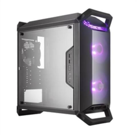 Cooler Master Case MCB-Q300P-KANN-S02 MASTER BOX Q300P (1) USB 0xPower Supply Windows RGB Mini-Tower Black Retail