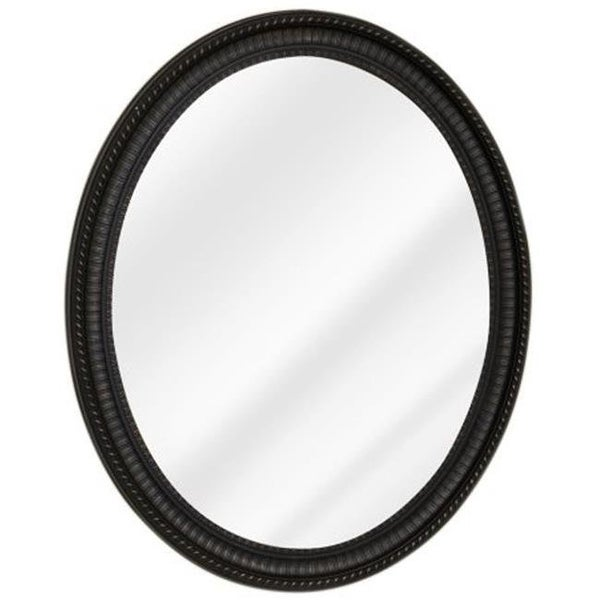 Shop Oil Rubbed Bronze Oval Frame Mirror With Medicine Cabine Free