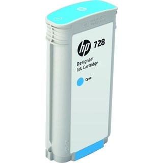 HP 728 130-ml Cyan DesignJet Ink