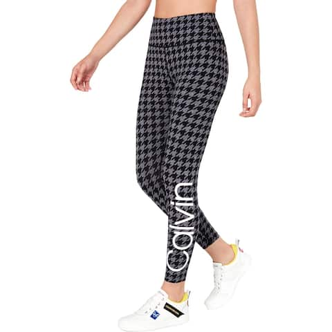 Calvin Klein Performance Womens Athletic Leggings High Waist Activewear