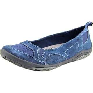 Earth Origins Scooter Women Round Toe Suede Flats