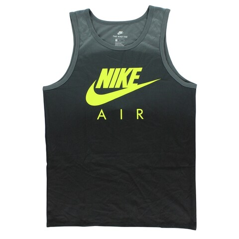 Nike Mens Air Max 95 Tank Top Grey - grey/volt