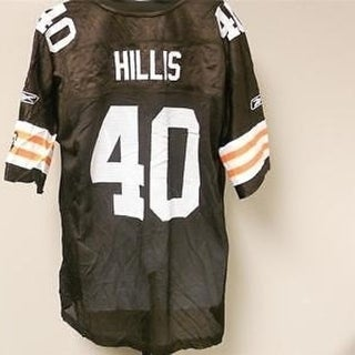 NO FRONT Peyton Hillis #40 Cleveland Browns XL XLARGE Reebok Jersey 15WS