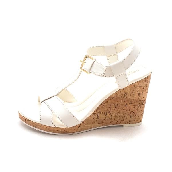 Cole Haan Womens Devonnesam Open Toe Casual Platform Sandals - 6