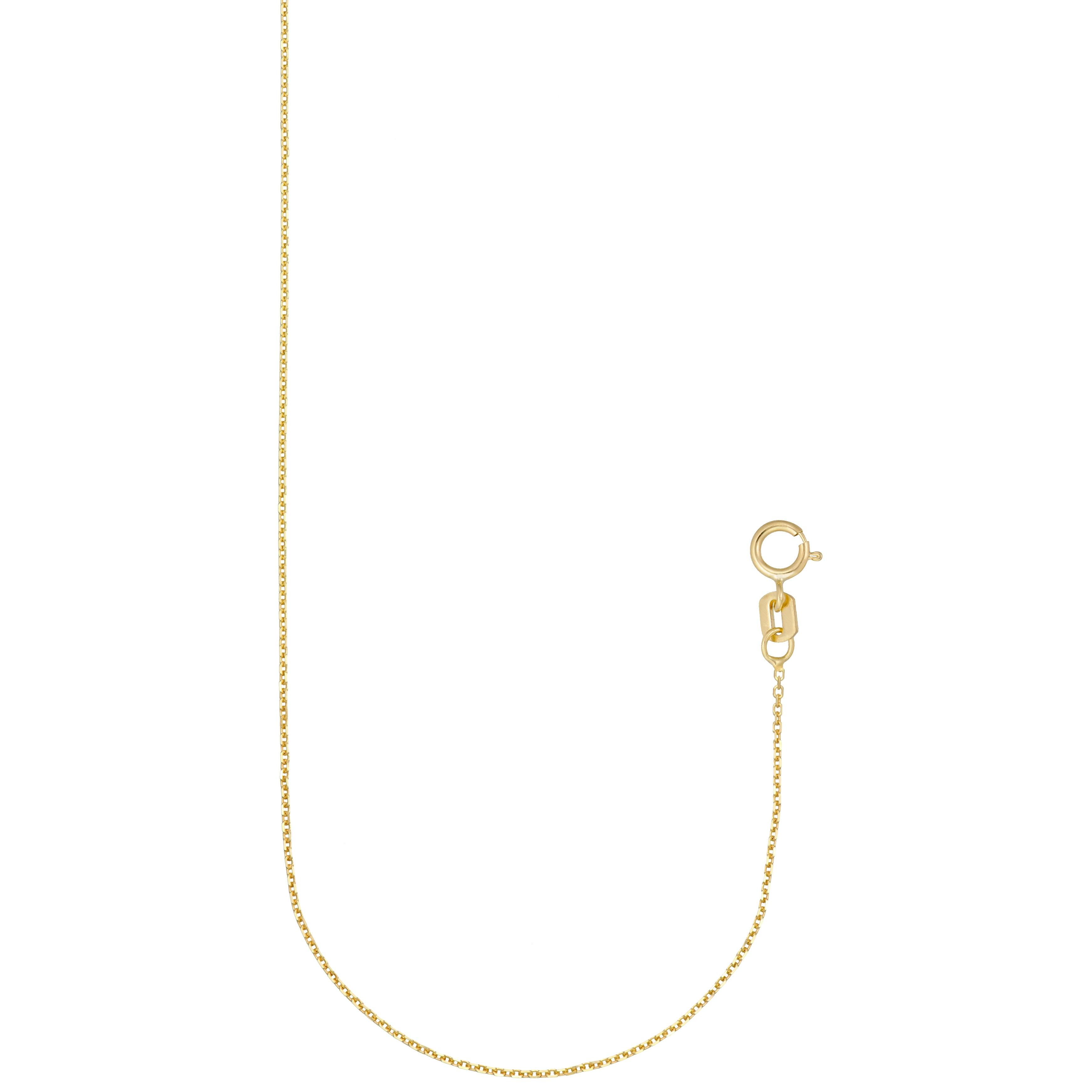 10 kt gold chain 18