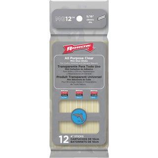 """Arrow 12Pk 4"""" Glue Sticks"""