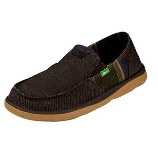 Sanuk Casual Shoes Mens Vagabond Tripper Denim Rubber Sole