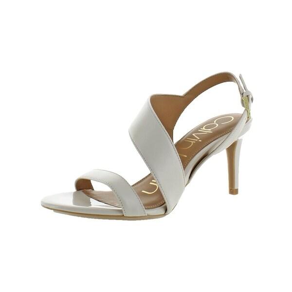 Calvin Klein Womens Lancy Dress Sandals Open Toe Stiletto