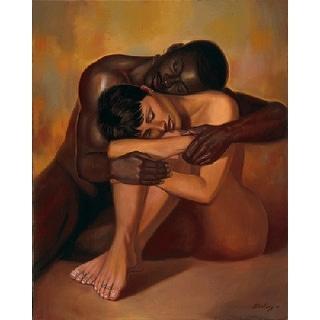 ''Tenderness'' by Sterling Brown African American Art Print (31 x 25 in.)