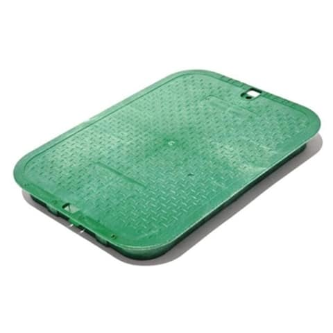 NDS 117C 13 x 20 in. Jumbo Valve Box Cover Green