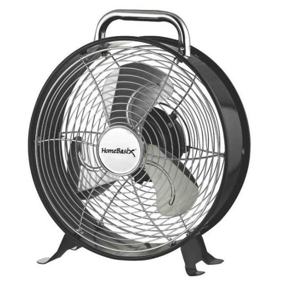 "Homebasix CZHV10 Retro Style Fan, 10"""