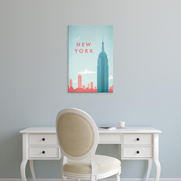 Easy Art Prints Henry Rivers's 'New York' Premium Canvas Art
