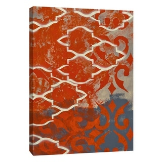 """PTM Images 9-108928  PTM Canvas Collection 10"""" x 8"""" - """"Cherry Pintura 1"""" Giclee Abstract Art Print on Canvas"""