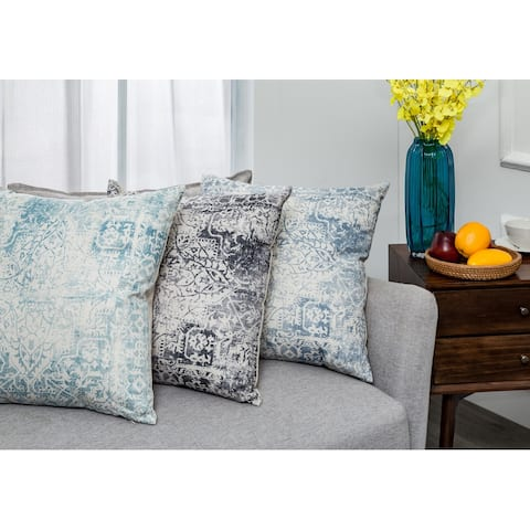 Elite Pillow with Carved Design