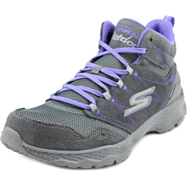 Skechers Go Walk Outdoors Passage Women Round Toe Suede Hiking Shoe