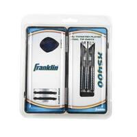 Franklin Unisex Xs400 Tungsten Plated Steel Tip Darts, Tungsten Coated, Os - tungsten coated