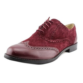 Cole Haan Skylar Oxford Round Toe Suede Oxford