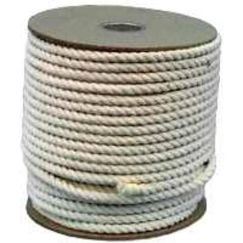 "Wellington 11285 Cotton Rope, 1/2"" x 300'"
