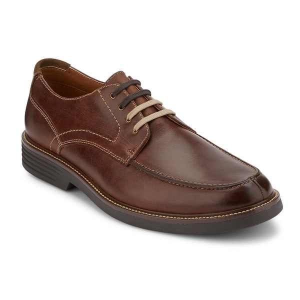 Dockers Mens Midway Leather Dress Casual Oxford Shoe with NeverWet