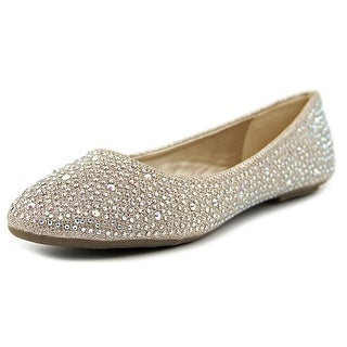 Dream Pairs Simple Round Toe Synthetic Ballet Flats
