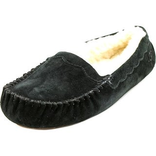 Ugg Womens Scalloped Wool Closed Toe Slip On Slippers