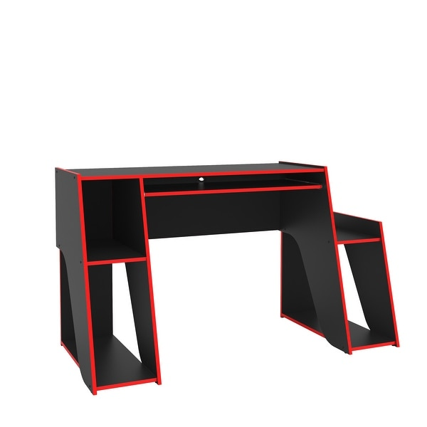 Polifurniture Kyoto Modern Two-tone Gaming Desk. Opens flyout.