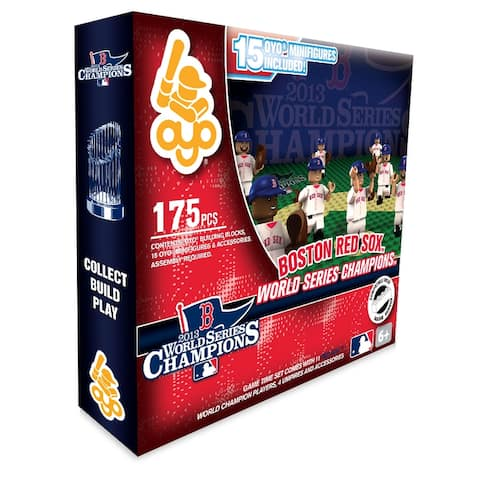 Collector Series OYO Sports MLB Minifigure World Series Game Time Set - multi
