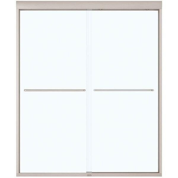 "Maax 134572-900-000 Kameleon 71"" High x 59"" Wide Bypass Framed Shower Door with Clear Glass"