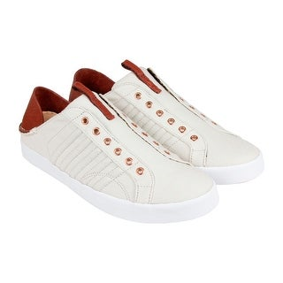 K-Swiss Belmont SLO CL Mens Tan Canvas Athletic Lace Up Training Shoes