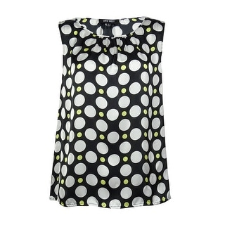 Nine West Women's Polka Dot Blouse
